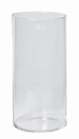 Cilinder vaas glas Ø 20 cm met een hoogte van 40 cm