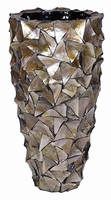 Plantenbak Shell Mother of Pearl brown in 2 afmetingen
