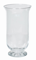 Windlicht glas transparant glas Ø 16 cm