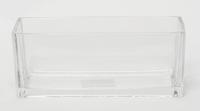Accuschaal laag konisch langwerpig 25 cm heavy glas