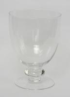 Glazen vaas op voet Coupe Balcon
