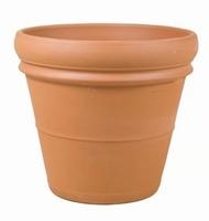 Terracotta plantenbak Doppio Bordo Ø 55 cm