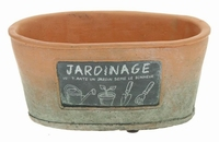 Planter Terracotta Jardinage in 2 afmetingen