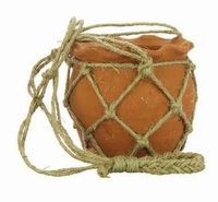 Terracotta hangpot Clay