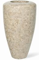 Vaas Geo cappuccino marble 110 cm