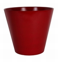 Bloempot Claire glossy red rond Art en Vogue