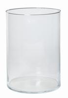 Cilinder vaas glas Ø 24,5 cm met een hoogte van 35 cm