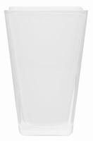 Vaas Oregon van gekleurd glas heavy glas wit