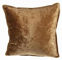 Sierkussen Ravoire van stof goudkleurig MAR10