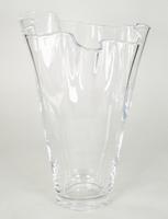 Waaier vaas van glas 35 cm
