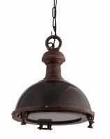 Hanglamp aluminium black lamp with iron M PTMD