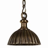 Hanglamp aluminium copper lamp hanging round flat PTMD