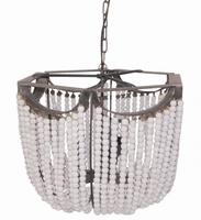Hanglamp Beading white lamp L PTMD