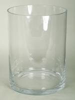 Cilinder vaas heavy glas Ø 30 cm met een hoogte van 40 cm