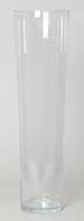 Cilinder vaas glas konisch hoog Ø 18,5 cm en hoogte 70 cm