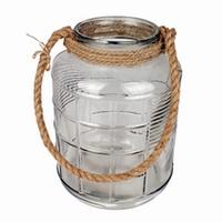 Glas Cruz met touw L