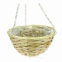 Hanging basket corn leaf naturel 30 cm