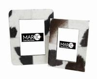 Fotolijst Ajoux koeprint zwart set van 2 MAR10