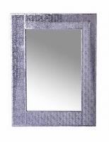 Spiegel Vagnas metallic zilver MAR10