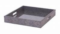 Tray Bachant metallic zilver MAR10