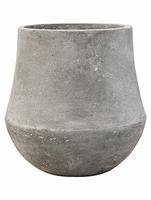 Plantenbak Darcy Raw grey S polystone coated