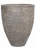 Plantenbak Khalif Raw grey polystone coated