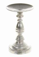 Kaarsenhouder Kaci metaal zilver large
