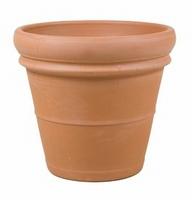 Terracotta plantenbak Doppio Bordo Ø 45 cm