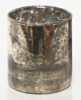 Cilinder Oxidise black 14 cm MAR10