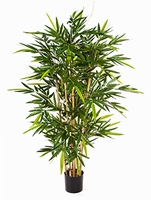 Kunstplant Bamboe toef 150 cm