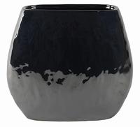 Keramieken plantenschaal Lieke pearl black 36 cm