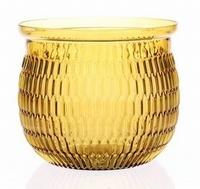 Glaspot Arvika oker geel