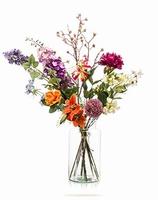 Kuntsbloemen boeket XL Flower Bomb 100 cm