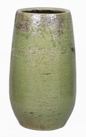 Keramieken vaas Lynn groen 45 cm