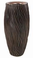 Plantenbak River antiek bronze 100 cm