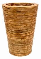 Rattanplanter Kubis Naturel 78 cm