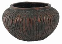 Keramieken bowl Lava Passion cement