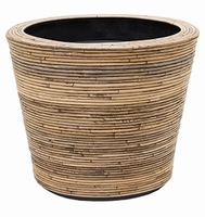 Drypot Rattan Stripe 53 cm