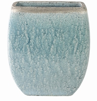 Keramieken planter Tijn light blue
