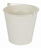 Zinken emmer crème glans Ø 15,5 cm