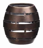 Kaarsenhouder Erdeven brons M
