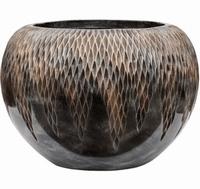 Plantenbak Universe Comet globe bronze 39 cm Luxe Lite