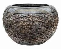 Plantenbak Universe Layer globe bronze 39 cm Luxe Lite