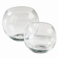 Glazen bolvaas diameter 25 cm