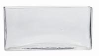 Accubak glas langwerpig lang heavy glas
