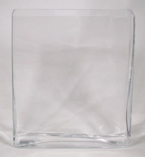 Accuschaal langwerpig hoog glas