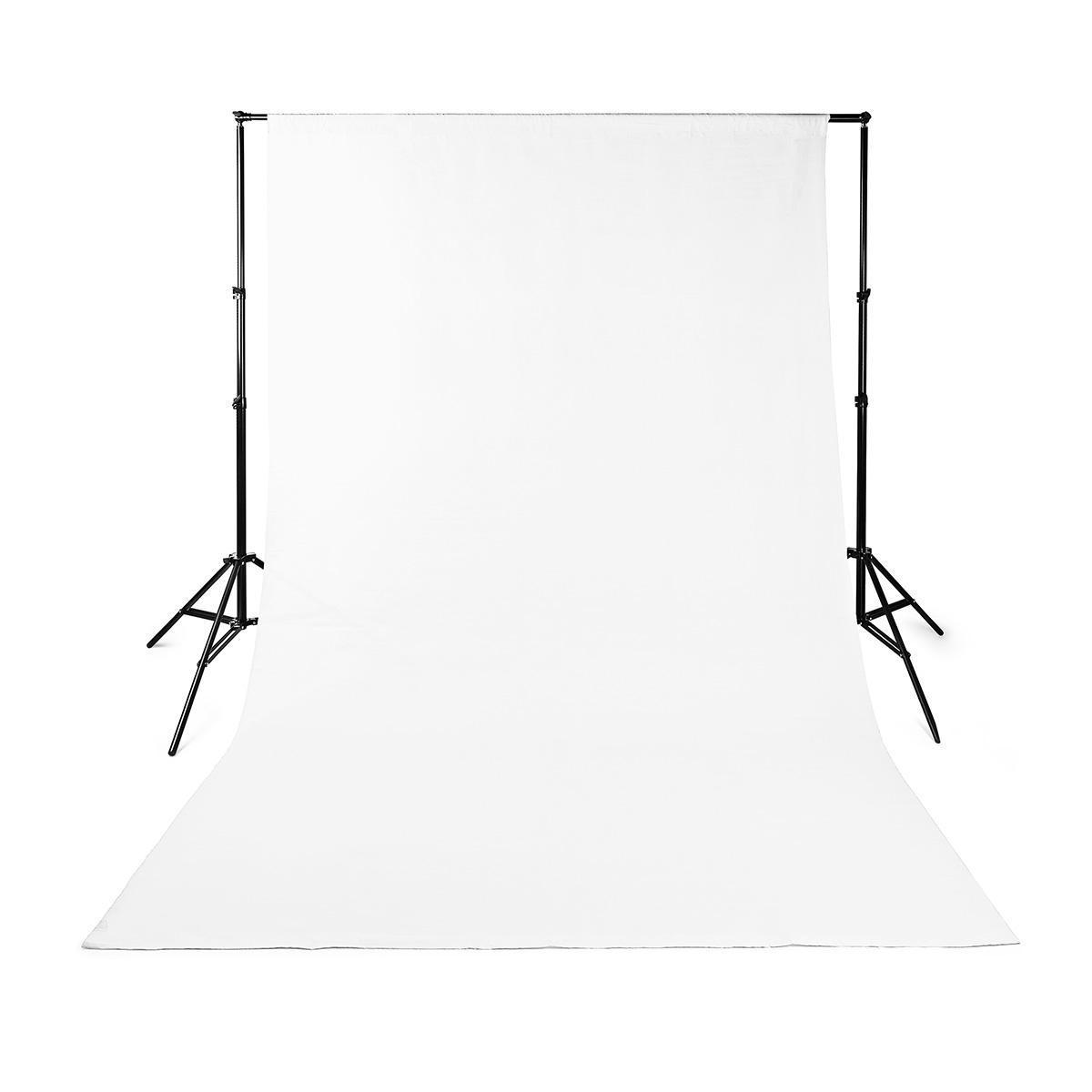 Achtergronddoek voor Fotostudio | 2,95 x 2,95 m | Wit