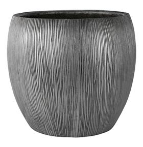 Bloempot Twist silver in meerdere afmetingen