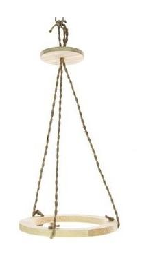 Bolvaas hanger van hout