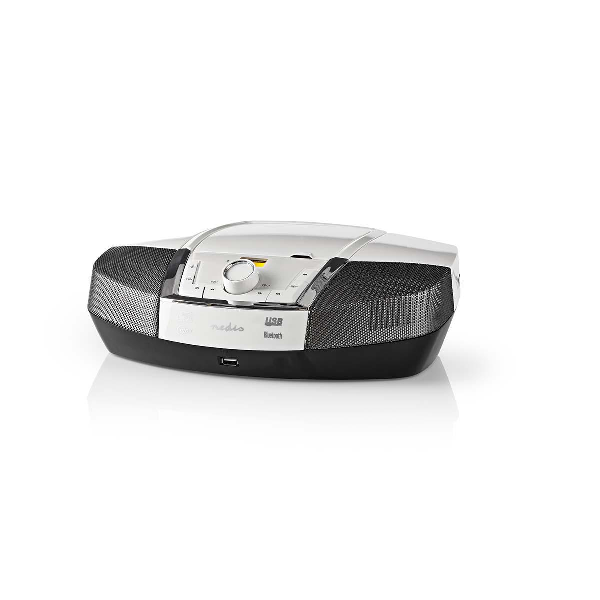 Boombox 12 W | Bluetooth® CD-speler Wit